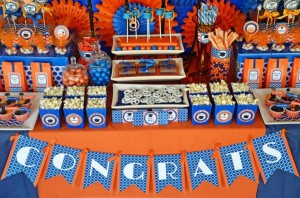 Graduation Party via Kara's Party Ideas | KarasPartyIdeas.com #grad #graduation #party #ideas (38)