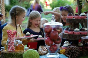 Little Red Riding Hood Birthday Party via Kara's Party Ideas #storybook #party #idea (30)