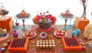 Hippie Bohemian OWL themed birthday party via Kara's Party Ideas KarasPartyIdeas.com (28)