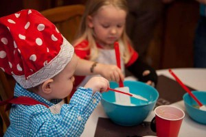 Little Chef cooking themed birthday party via Kara's Party Ideas KarasPartyIdeas.com #chef #cooking #pizza #party #idea (14)