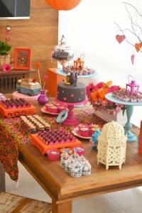 Hippie Bohemian OWL themed birthday party via Kara's Party Ideas KarasPartyIdeas.com (24)