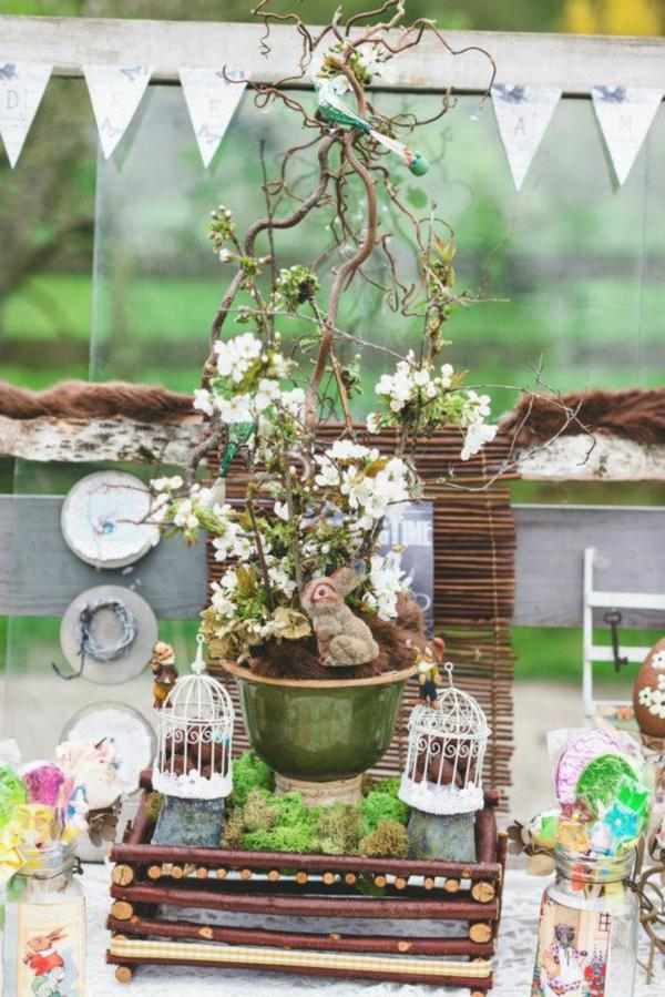 Vintage Easter Picnic Party via Kara's Party Ideas | KarasPartyIdeas.com #vintage #easter #picnic #boutique #upcycled (20)