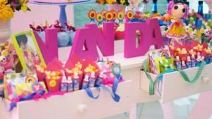 LalaLoopsy themed birthday party via Kara's Party Ideas KarasPartyIdeas.com #lalaloopsy #nanjaloopsy #birthday #party #ideas #cake #supplies #idea #favors #table #dessert (1) (50)