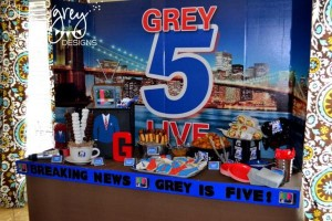 Live at FIVE anchorman NEWS themed birthday party via Kara's Party Idesa | KarasPartyIdeas.com (27)