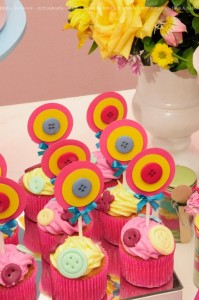 LalaLoopsy themed birthday party via Kara's Party Ideas KarasPartyIdeas.com #lalaloopsy #nanjaloopsy #birthday #party #ideas #cake #supplies #idea #favors #table #dessert (1) (57)