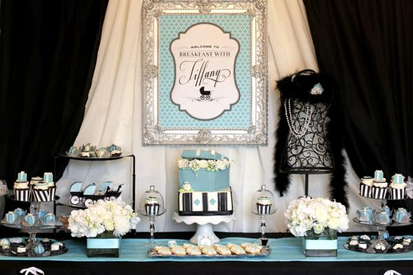 breakfast with at tiffany 39 s baby shower decorations planning ideas