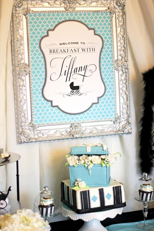 Kara\'s Party Ideas Breakfast {With} At Tiffany\'s Baby Shower ...