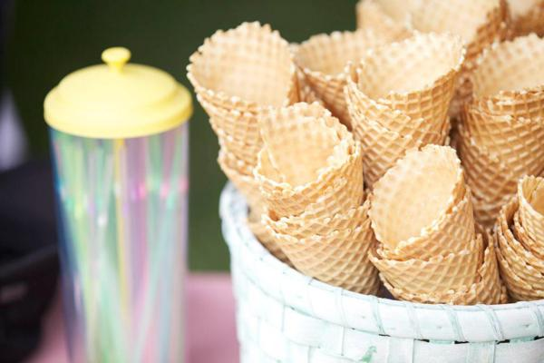 Ice Cream Shoppe Party via Kara's Party Ideas | KarasPartyIdeas.com #ice #cream #shoppe #party #ideas #summer #cake (31)
