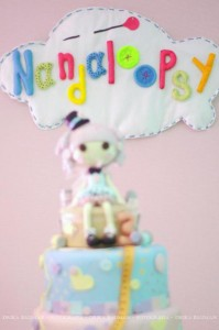 LalaLoopsy themed birthday party via Kara's Party Ideas KarasPartyIdeas.com #lalaloopsy #nanjaloopsy #birthday #party #ideas #cake #supplies #idea #favors #table #dessert (1) (48)
