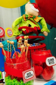 Circus themed birthday party via Kara's Party IDeas KarasPartyIdeas.com (28)