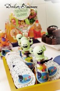 Monster themed birthday party via Kara's Party Ideas | KarasPartyIdeas.com #monster #birthday #party #ideas (51)