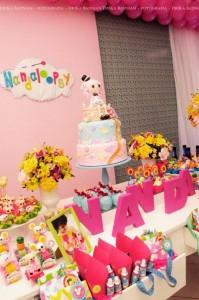 LalaLoopsy themed birthday party via Kara's Party Ideas KarasPartyIdeas.com #lalaloopsy #nanjaloopsy #birthday #party #ideas #cake #supplies #idea #favors #table #dessert (1) (46)