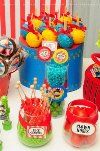 Circus themed birthday party via Kara's Party IDeas KarasPartyIdeas.com (21)