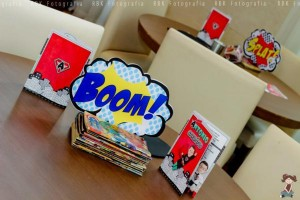 Superhero birthday party via Kara's Party Ideas | KarasPartyIdeas.com #super #hero (47)