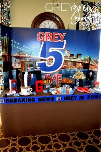 Live at FIVE anchorman NEWS themed birthday party via Kara's Party Idesa | KarasPartyIdeas.com (25)
