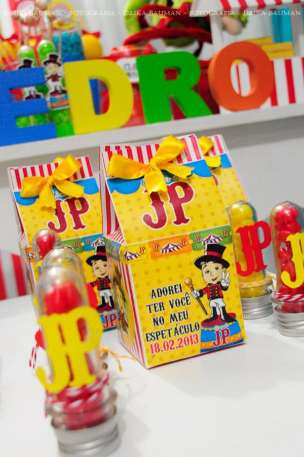 Karas Party Ideas Circus Clown Boy Themed 2nd Birthday Party