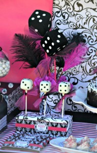 Pink BUNCO themed birthday party via Kara's Party Ideas KarasPartyIdeas.com #pink #bunco #themed #birthday #party #ideas #idea (30)