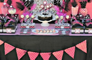 Pink BUNCO themed birthday party via Kara's Party Ideas KarasPartyIdeas.com #pink #bunco #themed #birthday #party #ideas #idea (29)