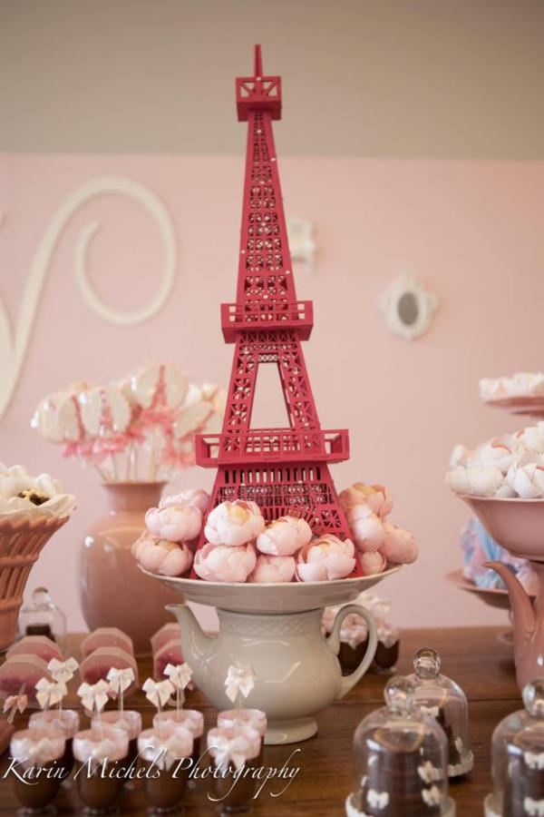 Karas Party Ideas Pink Paris French Girl Birthday