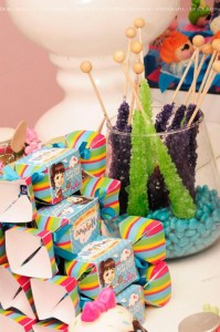 LalaLoopsy themed birthday party via Kara's Party Ideas KarasPartyIdeas.com #lalaloopsy #nanjaloopsy #birthday #party #ideas #cake #supplies #idea #favors #table #dessert (1) (52)
