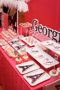 Poodle in Paris themed birthday party via Kara's Party Ideas | KarasPartyIdeas.com #poodle #paris #birthday #party #ideas #cake #cupcakes #favors #decorations #supplies #idea (45)