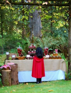 Little Red Riding Hood Birthday Party via Kara's Party Ideas #storybook #party #idea (22)