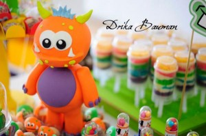 Monster themed birthday party via Kara's Party Ideas | KarasPartyIdeas.com #monster #birthday #party #ideas (42)