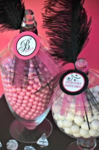 Pink BUNCO themed birthday party via Kara's Party Ideas KarasPartyIdeas.com #pink #bunco #themed #birthday #party #ideas #idea (27)