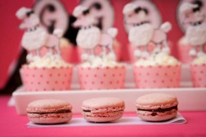 Poodle in Paris themed birthday party via Kara's Party Ideas | KarasPartyIdeas.com #poodle #paris #birthday #party #ideas #cake #cupcakes #favors #decorations #supplies #idea (43)