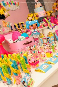 LalaLoopsy themed birthday party via Kara's Party Ideas KarasPartyIdeas.com #lalaloopsy #nanjaloopsy #birthday #party #ideas #cake #supplies #idea #favors #table #dessert (1) (42)