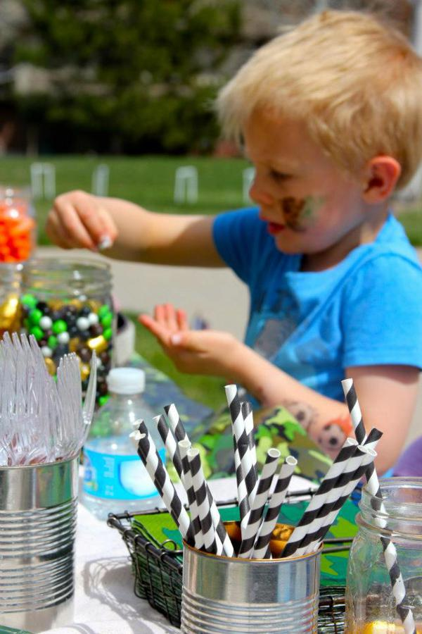Army Camouflage Birthday Party via Kara's Party Ideas | KarasPartyIdeas.com #army #camouflage #military #party #ideas (15)