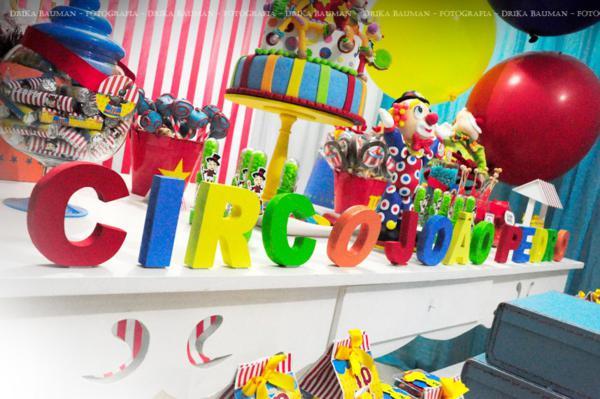 Circus Themed Birthday Party Via Kara S Ideas Karaspartyideas