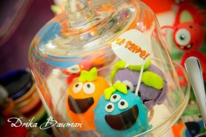 Monster themed birthday party via Kara's Party Ideas | KarasPartyIdeas.com #monster #birthday #party #ideas (40)