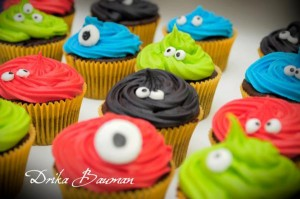 Monster themed birthday party via Kara's Party Ideas | KarasPartyIdeas.com #monster #birthday #party #ideas (39)