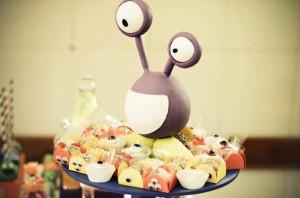 Monster themed birthday party via Kara's Party Ideas | KarasPartyIdeas.com #monster #birthday #party #ideas (34)