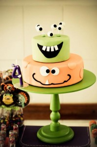 Monster themed birthday party via Kara's Party Ideas | KarasPartyIdeas.com #monster #birthday #party #ideas (63)