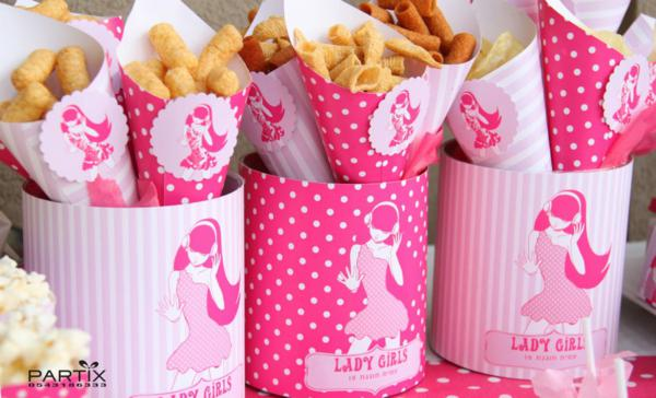 Karas Party Ideas Pink Dance Themed 10th Birthday Party