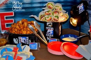 Live at FIVE anchorman NEWS themed birthday party via Kara's Party Idesa | KarasPartyIdeas.com (24)