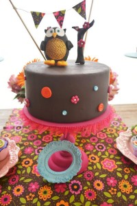 Hippie Bohemian OWL themed birthday party via Kara's Party Ideas KarasPartyIdeas.com (35)