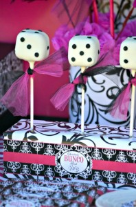 Pink BUNCO themed birthday party via Kara's Party Ideas KarasPartyIdeas.com #pink #bunco #themed #birthday #party #ideas #idea (25)