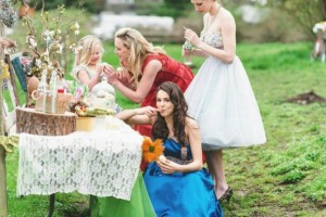 Vintage Easter Picnic Party via Kara's Party Ideas | KarasPartyIdeas.com #vintage #easter #picnic #boutique #upcycled (18)