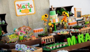 Fruit garden themed birthday party via Kara's Party Ideas! KarasPartyIdeas.com #unique #party #ideas #birthday #garden #fruit #spring #cake #cupcakes #idea (17)