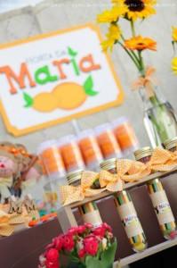 Fruit garden themed birthday party via Kara's Party Ideas! KarasPartyIdeas.com #unique #party #ideas #birthday #garden #fruit #spring #cake #cupcakes #idea (16)