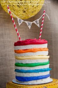 Disney's UP themed birthday party via Kara's Party Ideas | KarasPartyIdeas.com #up #themed #birthday #party #planning #ideas #cake #disney #decor #supplies #shop #idea (49)