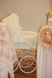 Vintage Peach and Gold baby shower via Kara's Party Ideas KarasPartyIdeas.com #vintage #peach #gold #party #idea #baby #shower (20)