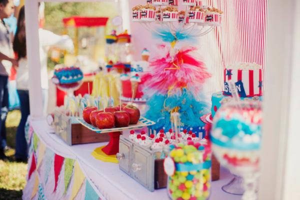 Karas Party Ideas Carnival Themed Birthday Party