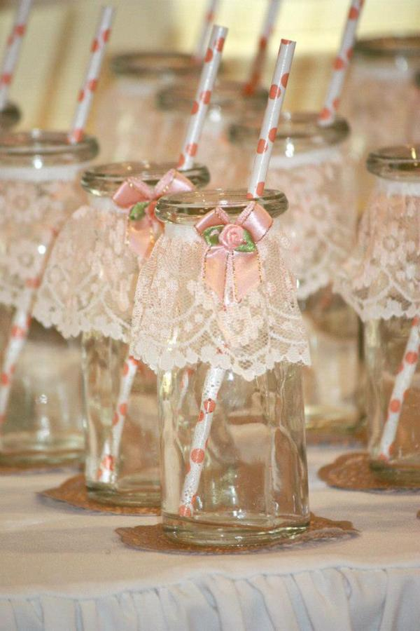 kara 39 s party ideas vintage peach and gold baby shower via kara 39 s part