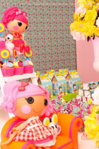 LalaLoopsy themed birthday party via Kara's Party Ideas KarasPartyIdeas.com #lalaloopsy #nanjaloopsy #birthday #party #ideas #cake #supplies #idea #favors #table #dessert (1) (36)
