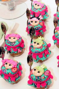 LalaLoopsy themed birthday party via Kara's Party Ideas KarasPartyIdeas.com #lalaloopsy #nanjaloopsy #birthday #party #ideas #cake #supplies #idea #favors #table #dessert (1) (35)