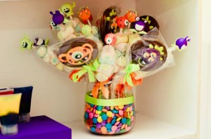 Monster themed birthday party via Kara's Party Ideas | KarasPartyIdeas.com #monster #birthday #party #ideas (32)